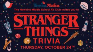 STRANGER THINGS TRIVIA! @ Venn Brewing Company